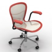 Office Mobile Chair Free 3dmax Model
