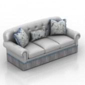 Chaise Sofa Furniture 3dmax Model