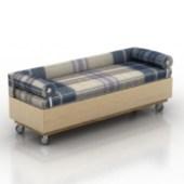 Brown Sofa Multiplayer Free 3dmax Model