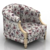Fabric Armchair Furniture