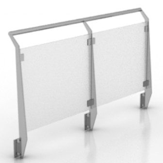 Outdoor Glass Fence