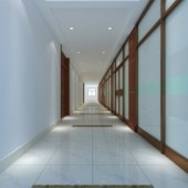 Office Corridor Interior Design