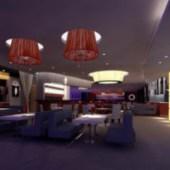 Romantic West Restaurant Interior