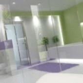 Design Lively Style Bathroom
