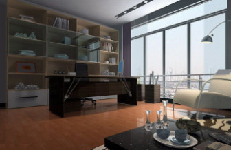 Modern Library Room Design