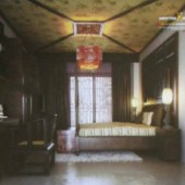 Chinese Classical Solid Wood Bedroom