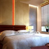 Warm And Fancy Comfortable Bedroom