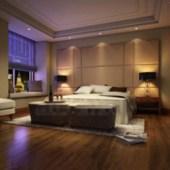 Modern Luxury And Comfortable Bedroom