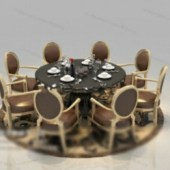 Roundtable Round Chair