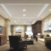 3d Living Room Business