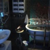 Fantasy Style Bathroom