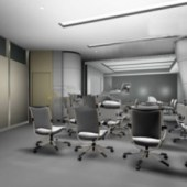 Free 3dmax Model Of Corporate Boardrooms