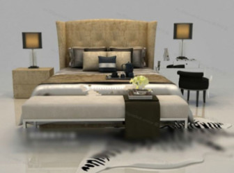Modern Style Fashion Bed