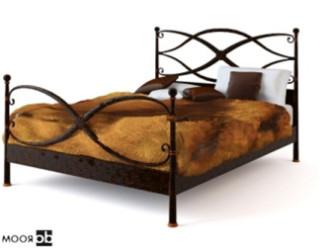 Retro Iron Bed