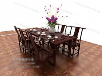 Combination Of Antique Furniture