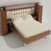 Modern Wind Simple Bed