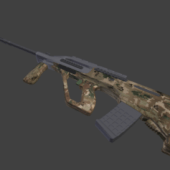 Steyr Aug Gun