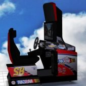 Nascar Arcade Machine