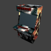 Arcade Game Box Resident Evil