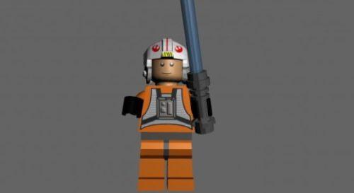 Lego Luke Skywalker X-wing Pilot