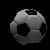 Soccer Ball With Stitches Detail