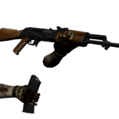 Ak-47 With Animation