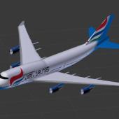 Airplane Boeing 747-400