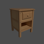 Drawer Bed Side
