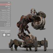 Mech Neck Walker – Blender Game Engine And Unity
