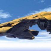 Federation Interceptor Battle Cruiser