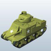 Wwii Us Tank  M3