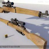 World War Ii  Sniper Gun