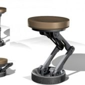 Adjustable Mechanical Bar Stool