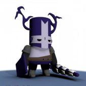 Castle Crashers Purple Knight