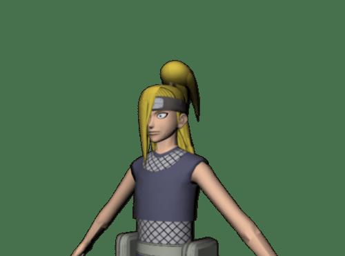 Deidara Akatsuki Ninja