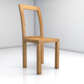 Simple Home Wooden Chair