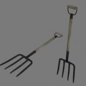 Pitchfork Weapon