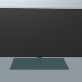 Lowpoly Lcd Monitor