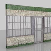Prison Metal Door