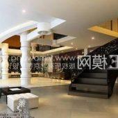 Modern Hotel Lobby