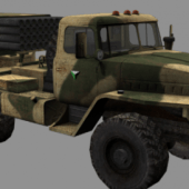 Bm-21 Grad Military Vehicle