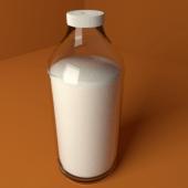 Bottle With Milk