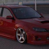 Subaru Wrx Sti 2011 (high Poly)