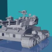 Advanced Military Tank