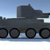 Ww2 Bt-42 Tank