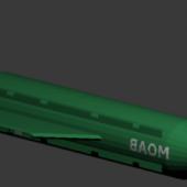 Bomb Gbu Moab Bomb
