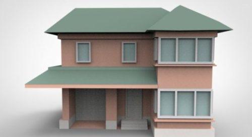 Building Cartoon House