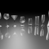 Glasses Difference Size Set