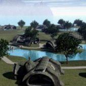 Habitat City Scene