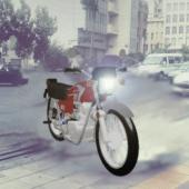 Honda 125 Motorcycle